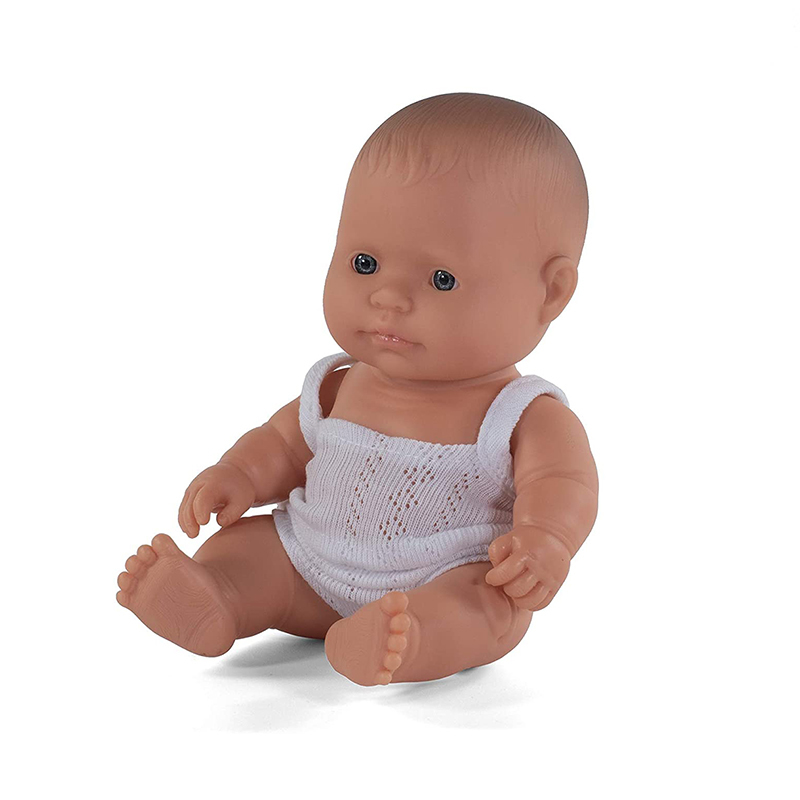 Picture of Miniland® Baby Doll Caucasian Girl 38cm