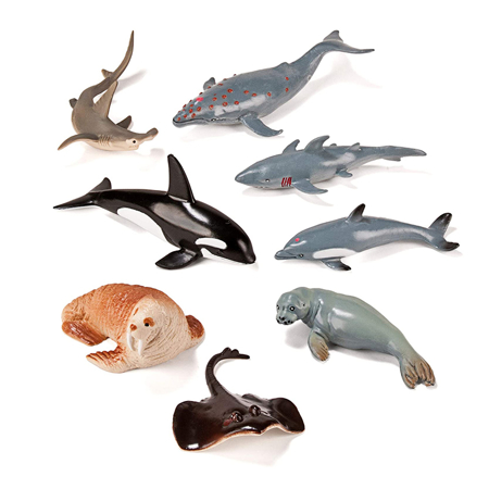 Picture of Miniland® Marine Animals (8 figures)