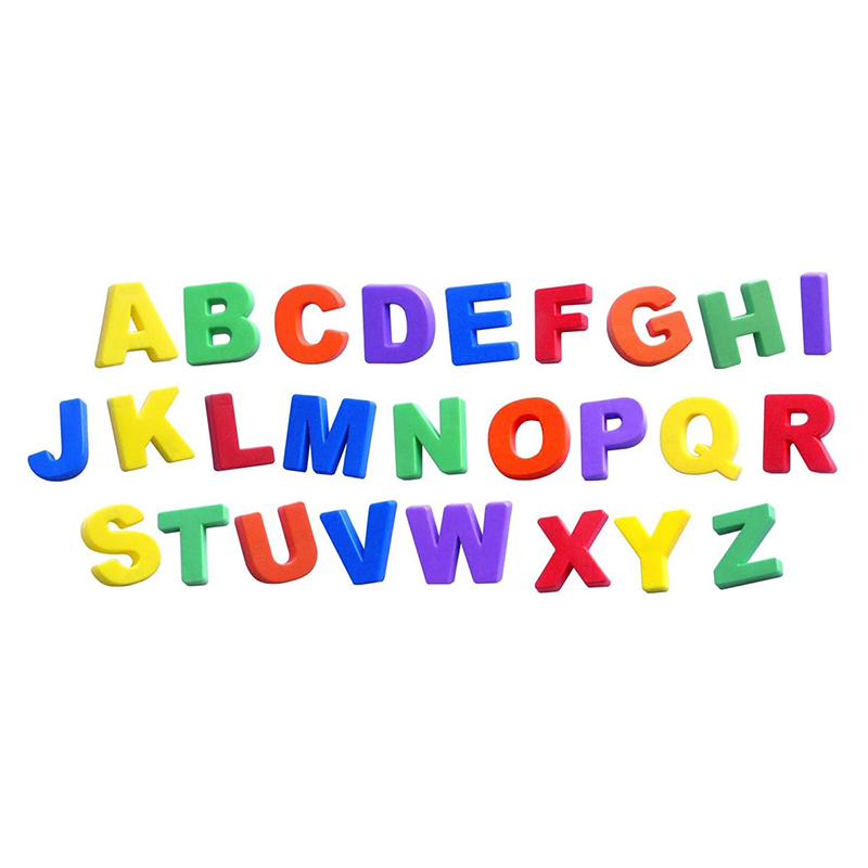 Picture of Miniland® Magnetic Jumbo Letters (74 pieces)