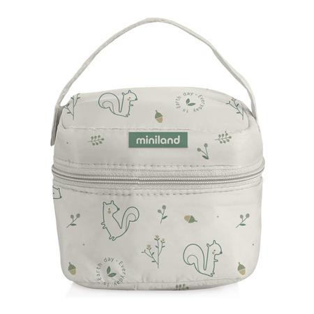 Miniland® Pack 2 Go Natur Square Chip