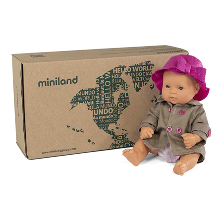 Miniland® Baby doll Mild Weather set 32cm