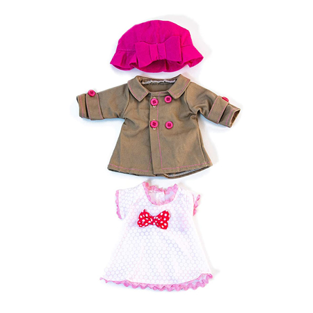Picture of Miniland® Baby doll Mild Weather set 32cm