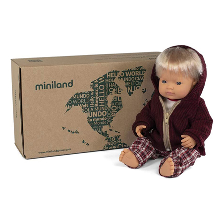 Miniland® Baby doll Cold weather Trousers Set 38cm