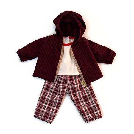 Picture of Miniland® Baby doll Cold weather Trousers Set 38cm