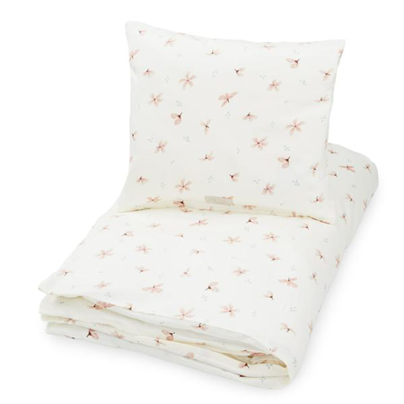 Picture of CamCam® Danish Junior Bedding Windflower Creme (100x140;45x40)