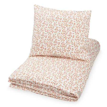 Picture of CamCam® Danish Junior Bedding Caramel Leaves (100x140;45x40)