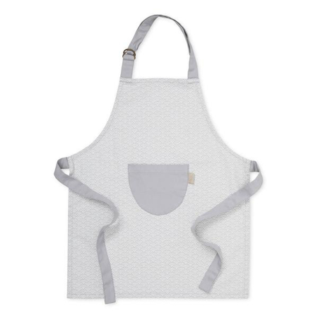 Picture of CamCam® Kids Apron Grey Wave