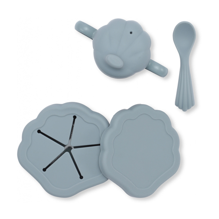 Picture of Konges Sløjd® Silicone Clam Set Light Blue