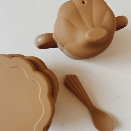 Picture of Konges Sløjd® Silicone Clam Set Shell