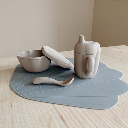 Picture of Konges Sløjd® Silicone Clam Set Warm Grey