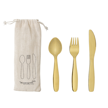 Picture of Bloomingville® Hazha Cutlery Gold Stainless Steel