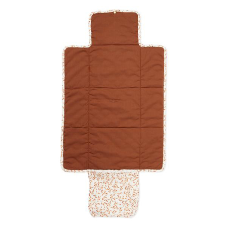 CamCam® Quilted Changing Mat Caramel Leaves
