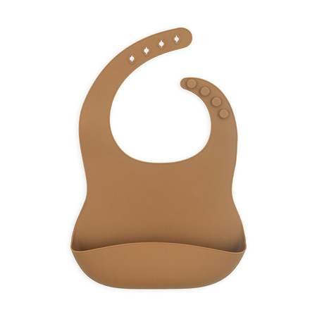 Picture of Jollein® Baby bib silicone Caramel