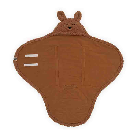 Picture of Jollein® Wrap blanket Bunny Caramel 105x100