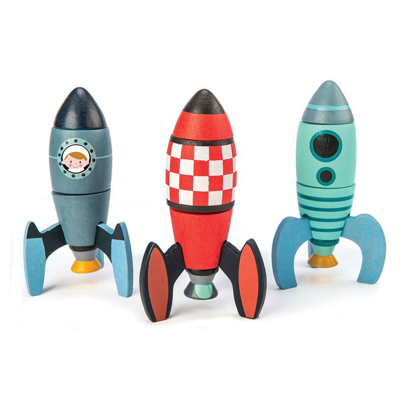 Picture of Tender Leaf Toys® Rocket Construction