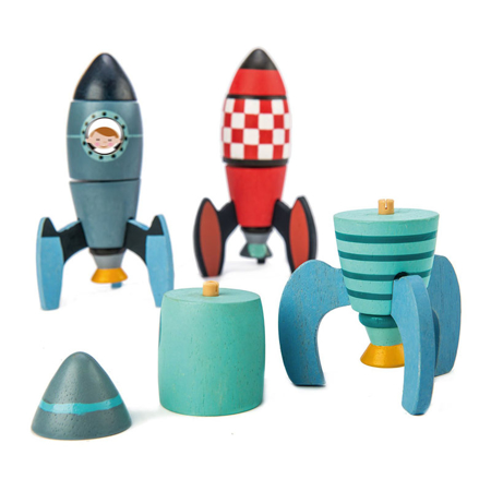 Tender Leaf Toys® Rocket Construction