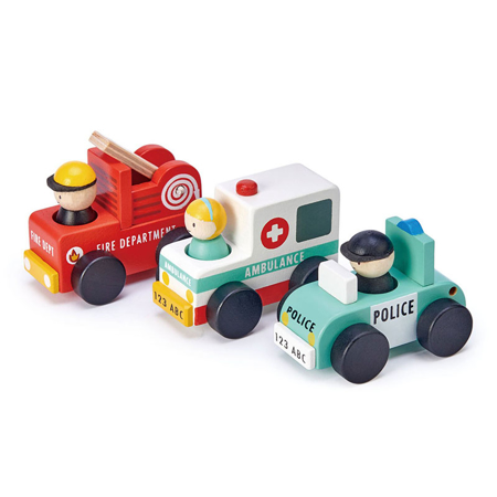 Picture of Tender Leaf Toys® Emergency Vehicles