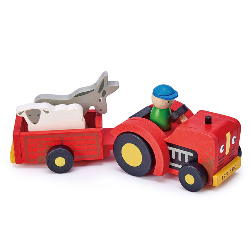 Picture of Tender Leaf Toys® Tractor And Trailer