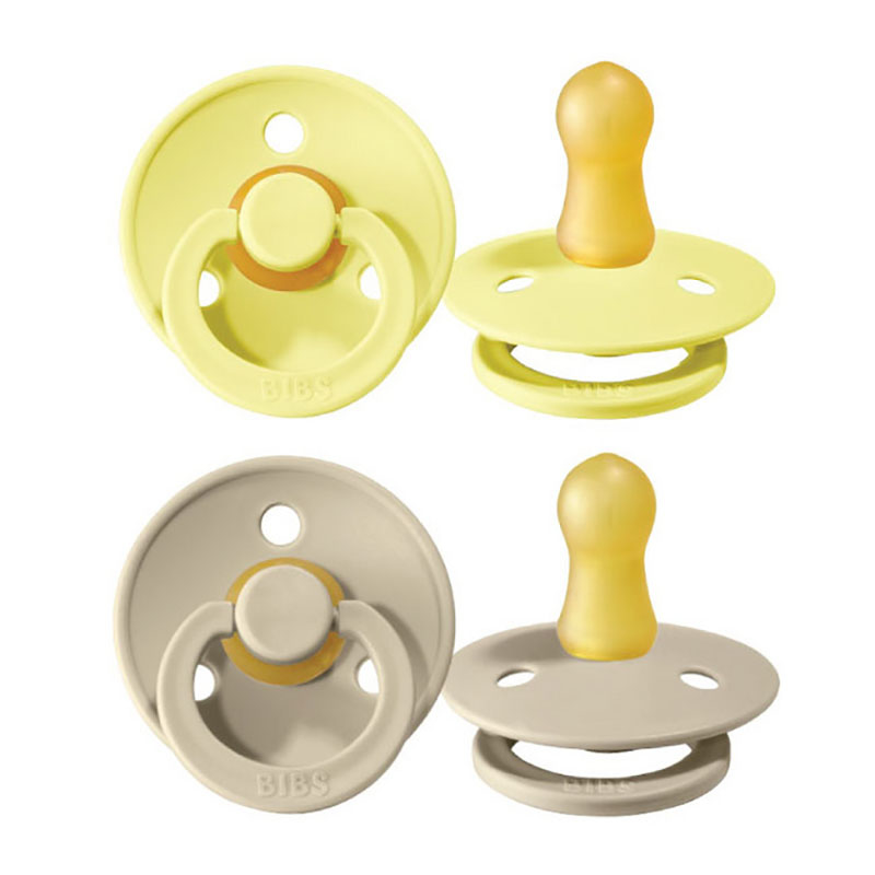 Picture of Bibs® Natural Rubber Baby Pacifier Sunshine & Sand 1 (0-6m)