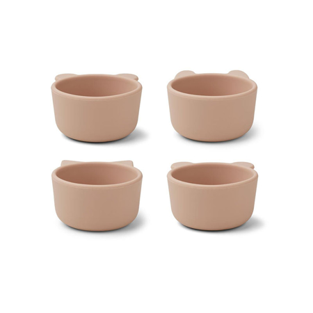 Picture of Liewood® Malene Silicone Bowl 4 Pack Rose