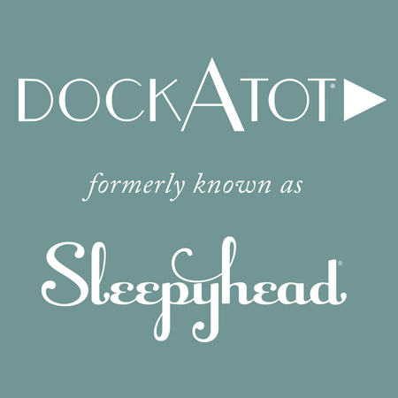 Picture of DockAtot® Deluxe+ Dock By Morris & Co. Strawberry Thief (0-8m)