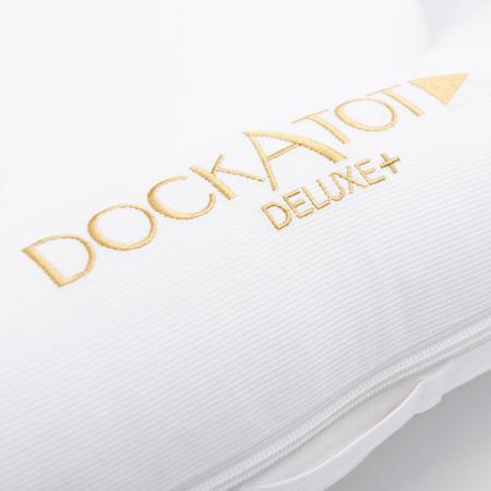 DockAtot® Deluxe+ Dock Pristine White (0-8m)