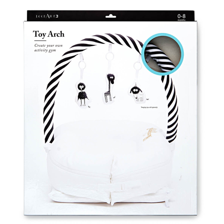 Picture of DockAtot® Toy Arch for Deluxe+ Dock Black/White