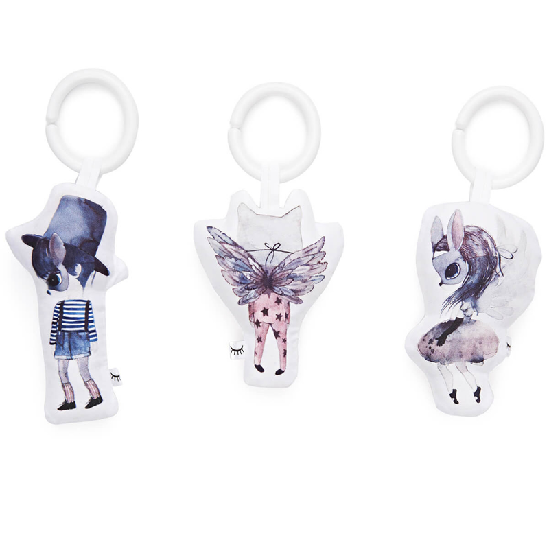 Picture of DockAtot® Toy Set - Mrs. Mighetto Cloud Friends
