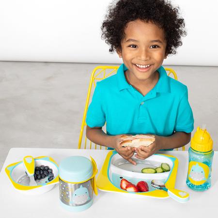 Picture of Skip Hop® Melamine Plate&Bowl Set Shark