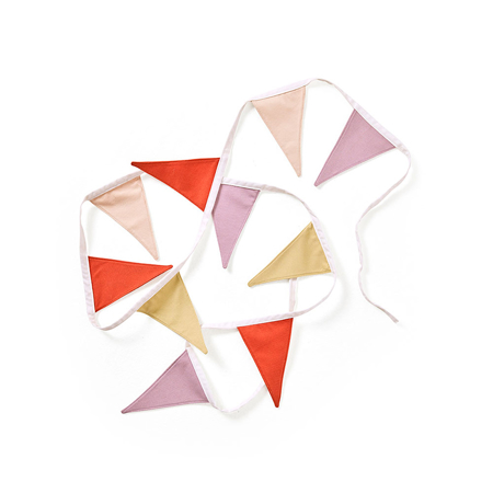 Picture of Kids Concept® Edvin Bunting Purple/Red