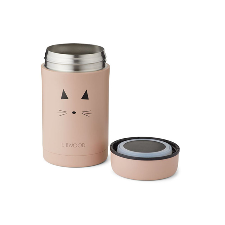Liewood® Bernard Food Jar Cat Rose 500 ml