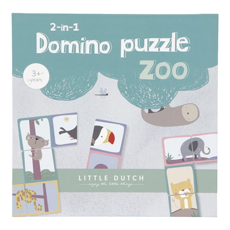 Picture of Little Dutch® Domino Puzzle Zoo