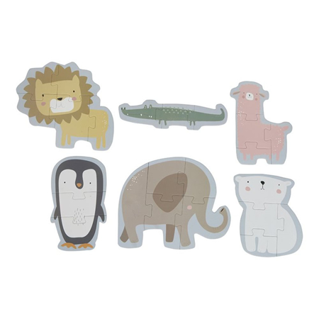 Picture of Little Dutch® Animal puzzles