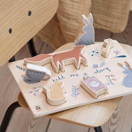 Sebra® Wooden chunky puzzle Daydream