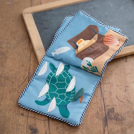 Sebra® Soft activity book Seven Seas