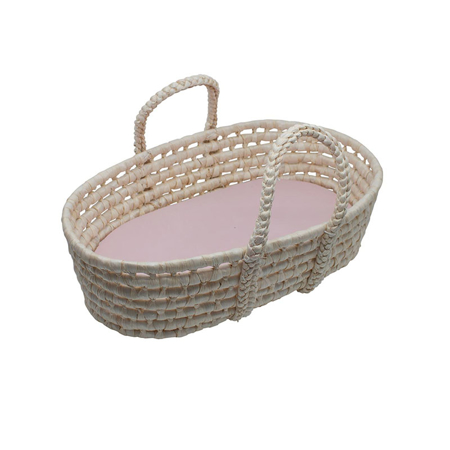 Picture of Sebra® Doll''s carry cot Sunset Pink