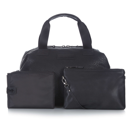 Tiba+Marl® Previjalna torba Raf Holdall Faux Black