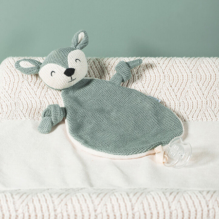 Picture of Jollein® Cuddle cloth Deer Ash Green