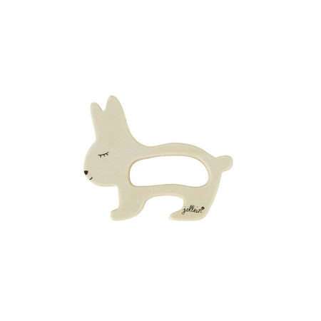 Picture of Jollein® Teether wood - Rabbit