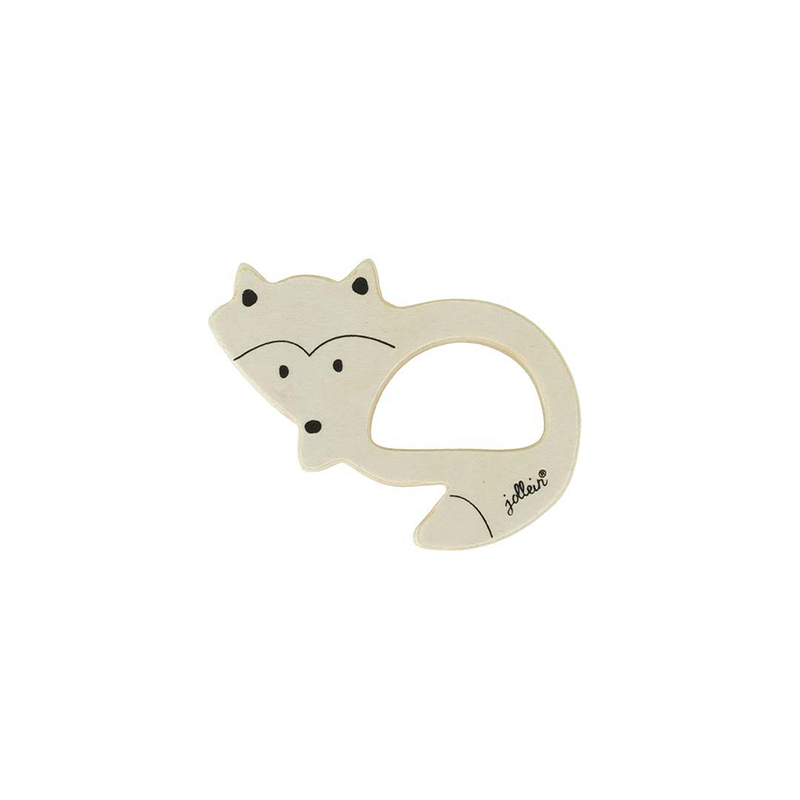 Picture of Jollein® Teether wood - Fox