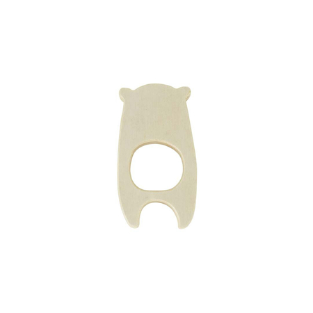 Jollein® Teether wood - Bear