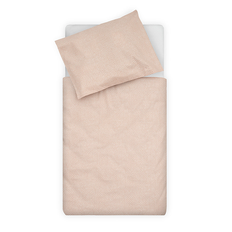 Picture of Jollein® Duvet cover Cot Snake Pale Pink 140x100