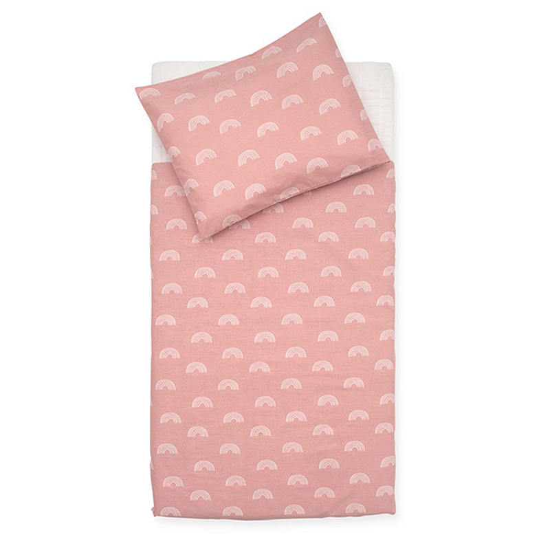 Picture of Jollein® Duvet cover Cot Rainbow Blush Pink 140x100