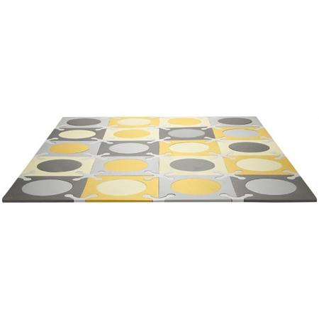 Skip Hop® Playspot Geo Foam Floor Tiles Grey/Gold