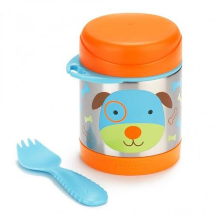 Skip Hop® Insulated Little Kid Food Jar Puppy