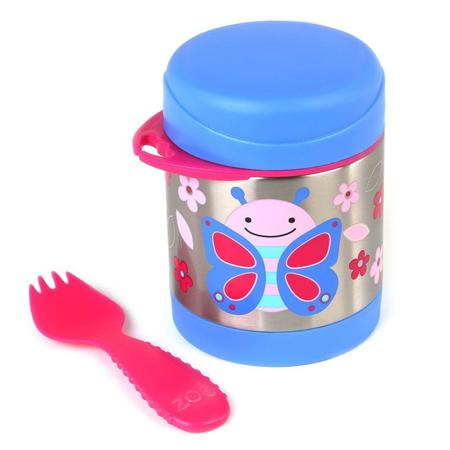Skip Hop® Insulated Little Kid Food Jar Butterfly