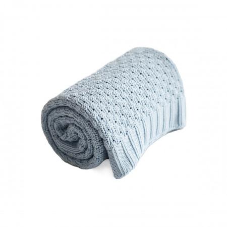 Effiki® Cotton Baby Blanket - Blue