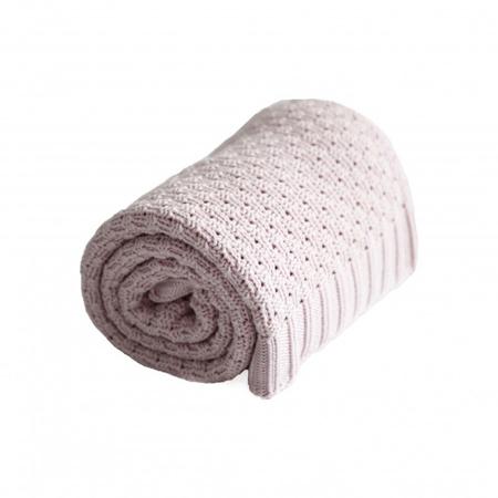 Effiki® Cotton Baby Blanket - Pink