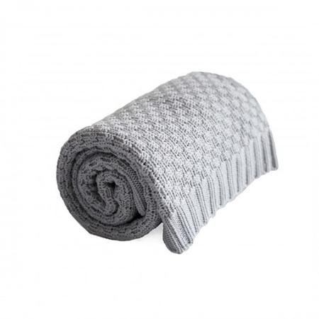 Effiki® Cotton Baby Blanket - Grey