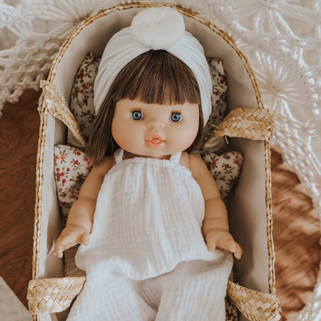 Picture of Minikane® Doll with sleeping eyes Chloé 34cm